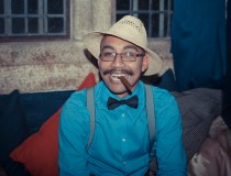 Straw Hat and Cigar