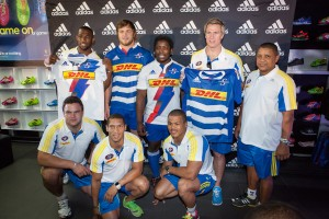 Stormers 2014 Adidas Amazing Race Jersey Launch