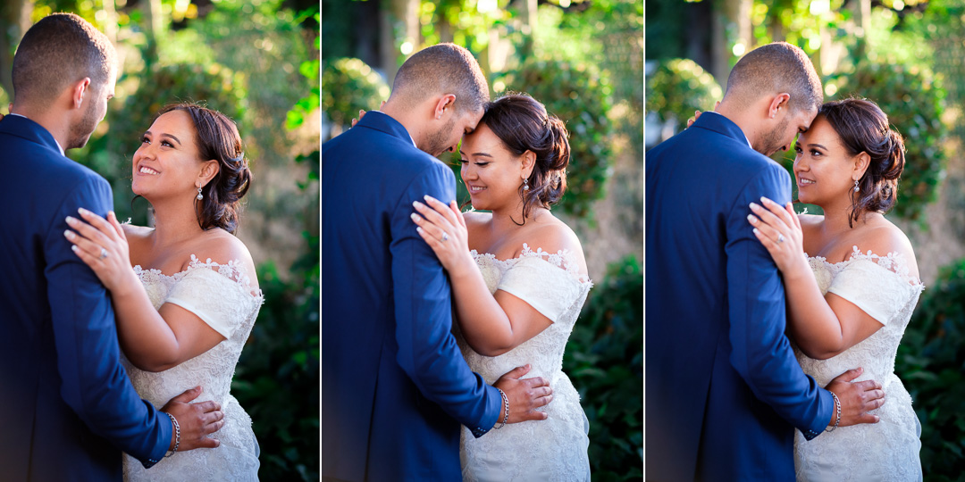 bride and groom couple session