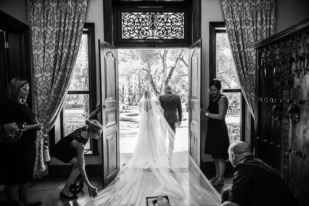 bride and farther